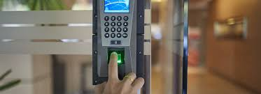 finger on access control